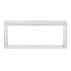 arctic console table front