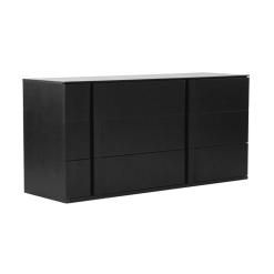 bedroom carbon double dresser