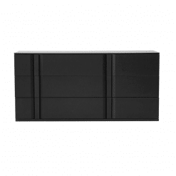 bedroom carbon double dresser front