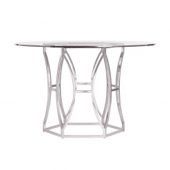 dining room argent round table