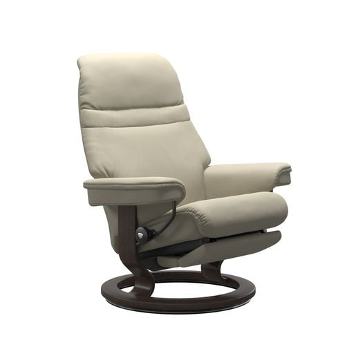 Image depicts the Sunrise power recliner from Stressless.