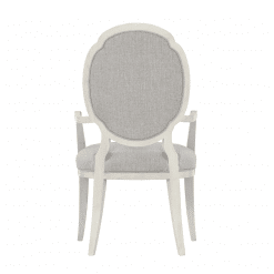 Allure Arm Dining Chair Back