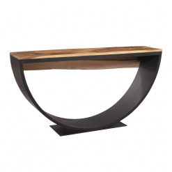 Arc Console Table Back