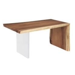 Austin Desk Office Desk with Acrylic Leg