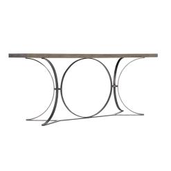 Canyon Ridge Console Table Angle