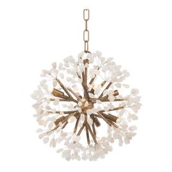 Magica 8 light chandelier