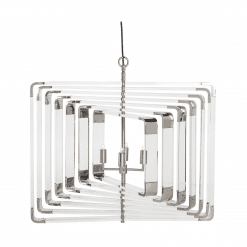 Terra Acrylic 7 Layer in Nickel Angle