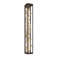 Aerie 6lt wall sconce in gold