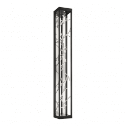Aerie 6lt wall sconce in silver