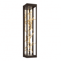 Aerie H30 Wall Sconce in Gold