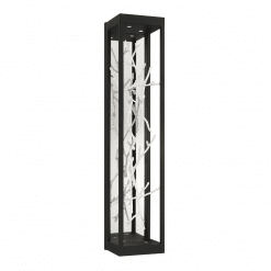 Aerie H30 Wall Sconce in Silver