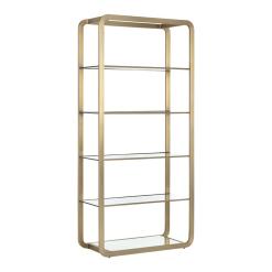 Ambretta Bookcase in Gold Large