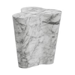 Ava Side Table in Marble Small