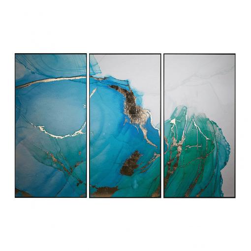 Blue Lagoon Wall Art