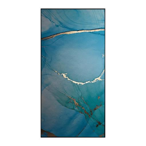Blue Lagoon Wall Art Left