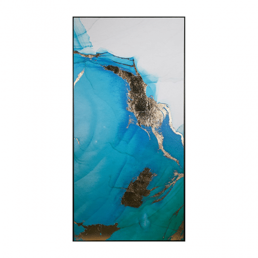 Blue Lagoon Wall Art Middle