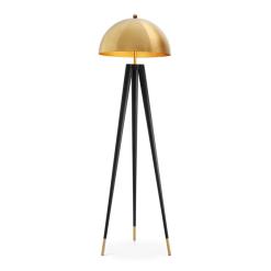 Boursin Floor Lamp in Gold