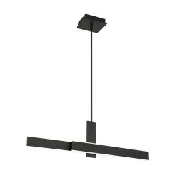 Cameno 36 inch Linear Chandelier in Matte Black