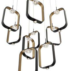 Dagmar chandelier details