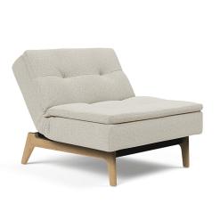 Dublexo Eik Chair Mixed Dance Natural Angle