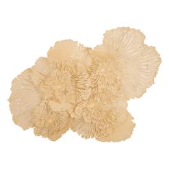 Flower Wall Art Large Ivory
