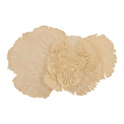 Flower Wall Art Medium Ivory