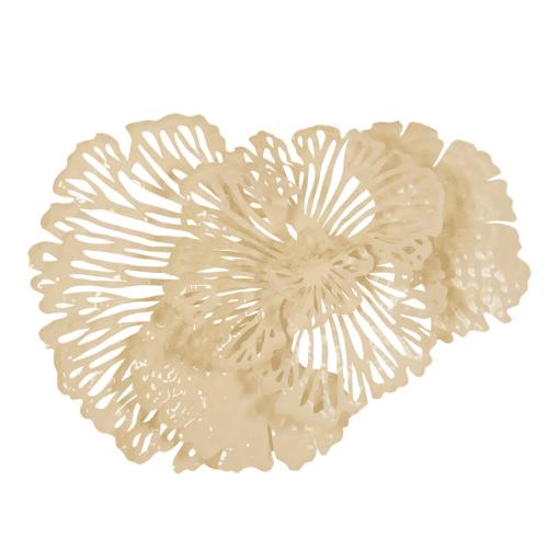 Flower Wall Art Small Ivory