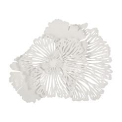 Flower Wall Art Small White