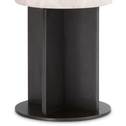 Graviera Table Lamp with Bronze Highlight Base Details