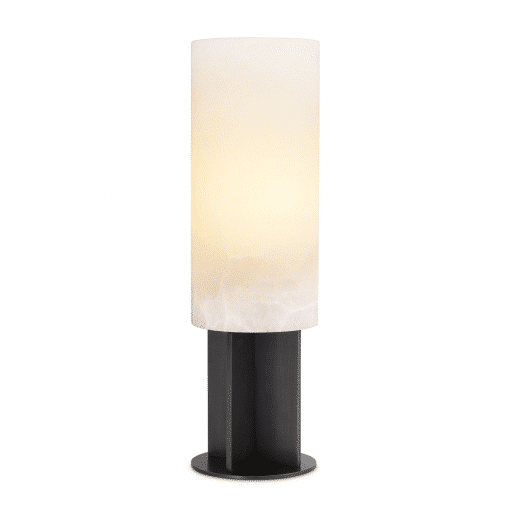Graviera Table Lamp with Bronze Highlight Finish