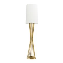 Lancashire Floor Lamp in Gold No Light
