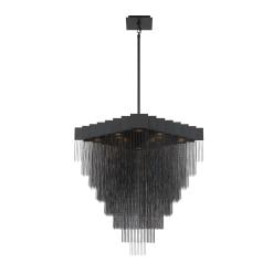 Le Fou 31 inch chandelier in black