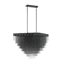 Le Fou 47 inch chandelier in black