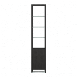 Linea 5801 Shelf in Charcoal Stained Ash