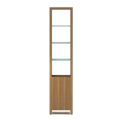 Linea 5801 Shelf in Natural Walnut