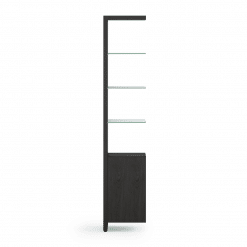 Linea 5801A Shelf in Charcoal Stained Ash
