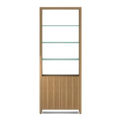Linea 5802 Shelf in Natural Walnut