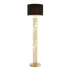 Mimolette Floor Lamp in Gold