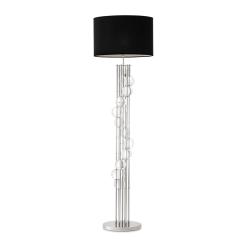 Mimolette Floor Lamp in Nickel