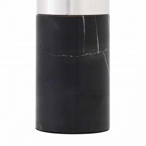 Padano Table Lamp Black Marble Base Details scaled