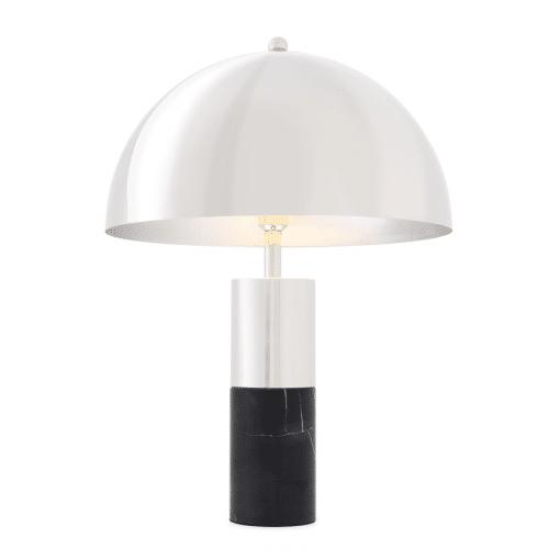 Padano Table Lamp in Nickel