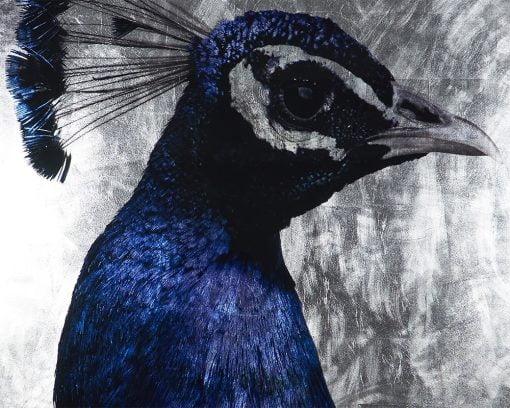Peacock Wall Art Details