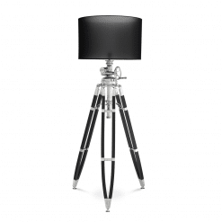 Raclette Floor lamp in Polished Aluminum