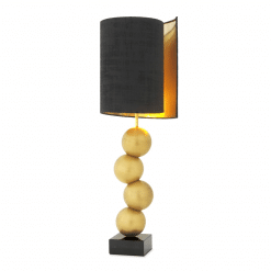 Realm Table Lamp in Brass