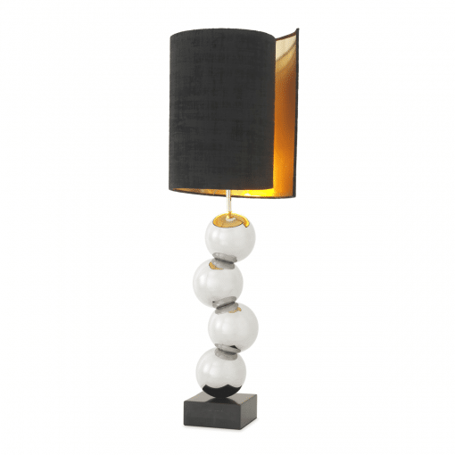 Realm Table Lamp in Nickel