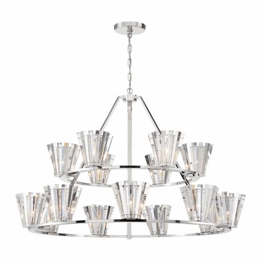 Ricca 15 light chandelier