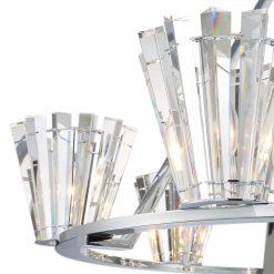 Ricca 6 Light Chandelier Details