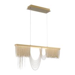 Tenda 35.50 inch chandelier in Gold