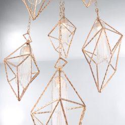 Verdino 6 Light chandelier angle scaled