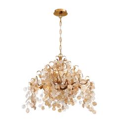 campobasso 8 light chandelier